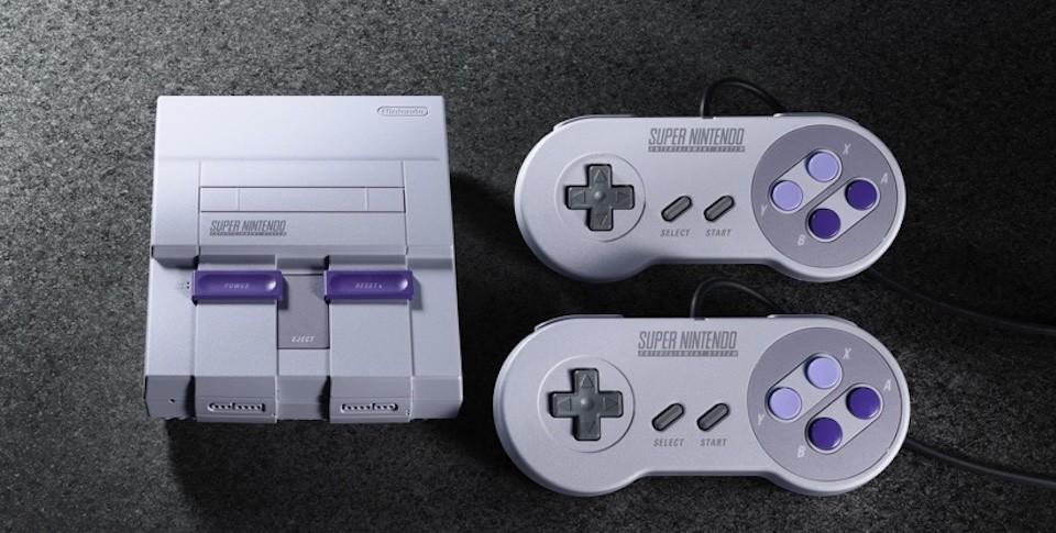 Nintendo перевыпустила консоль Super Nintendo. Цена — $80