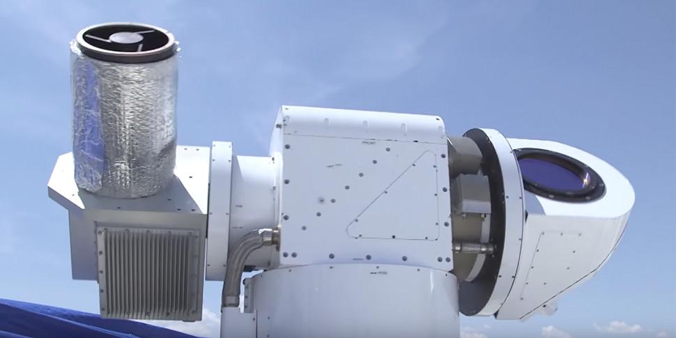 Lockheed Martin показала в действии боевой лазер против дронов