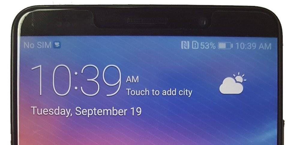 Опубликовано фото смартфона Huawei Mate 10, который будет дороже iPhone X