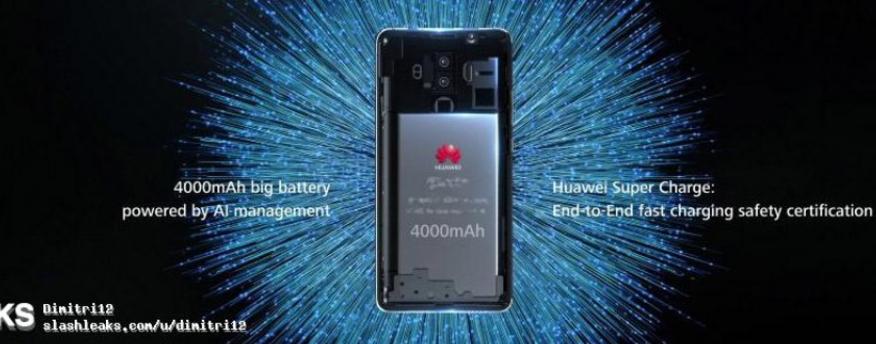 В сеть попали рекламные изображения Huawei Mate 10