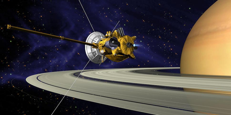 Фотофакт: лучшие снимки Cassini. Завтра аппарат будет уничтожен