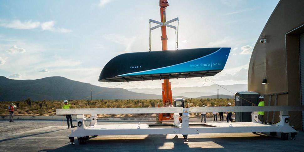Hyperloop Oneназвала потенциальные места для постройки скоростного пути