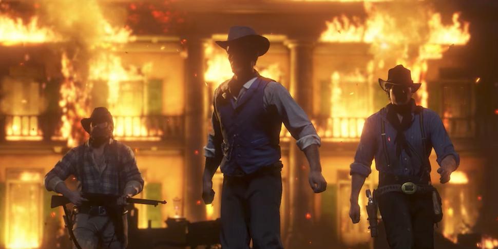Очень круто! Вышел новый трейлер игры Red Dead Redemption 2