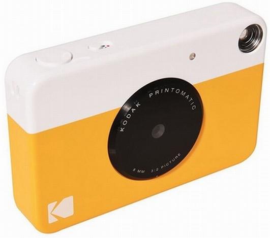 Доступный фотоаппарат Kodak Printomatic самостоятельно печатает снимки