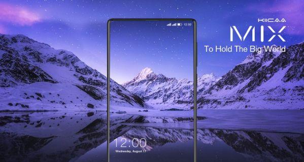 Безрамочный смартфон LEAGOO KIICAA MIX  оценен в $120
