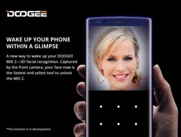 Doogee представила свое видение системы Apple Face ID