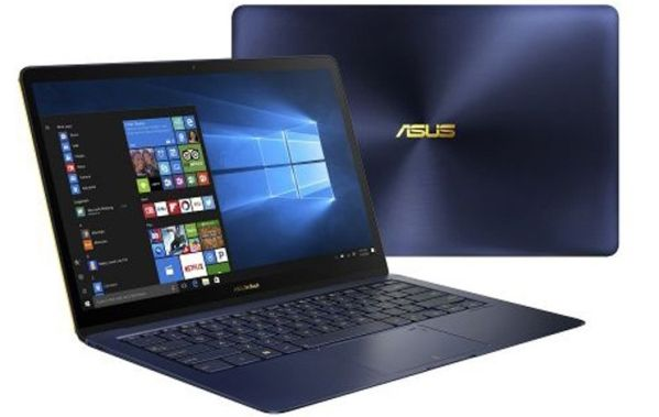 Ноутбук ASUS ZenBook 3 Deluxe UX3490UAR оказался очень компактным