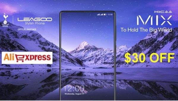 Сэкономь $30 при покупке смартфона LEAGOO KIICAA MIX!