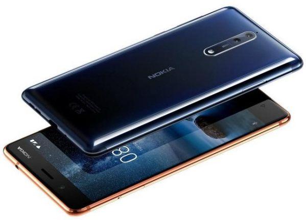 Nokia 8 в версии 6-128 Гб выйдет в октябре