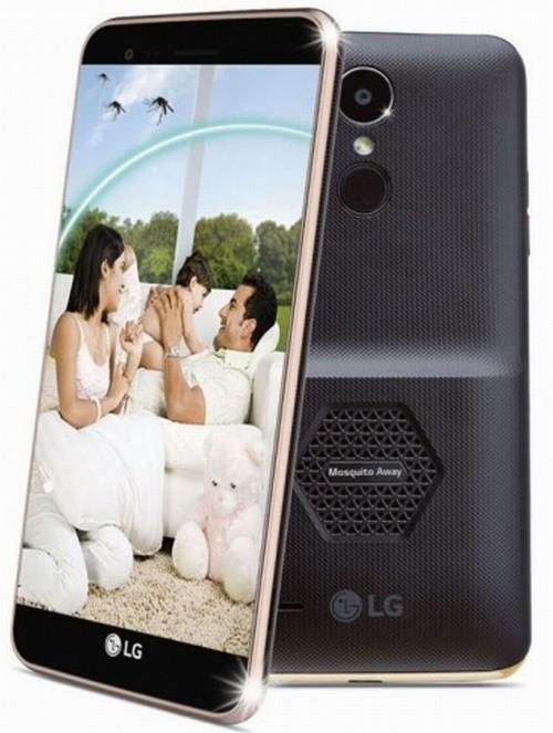 «Дачный» смартфон LG K7i отпугивает комаров