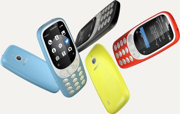 Анонсирован телефон Nokia 3310 3G