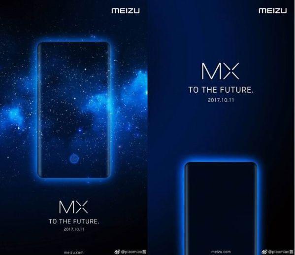 Безрамочный смартфон Meizu MX7 покажут в октябре