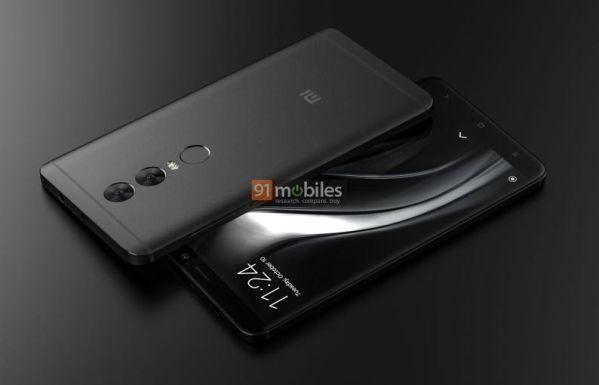 Смартфон Xiaomi Redmi Note 5 показался на рендерах