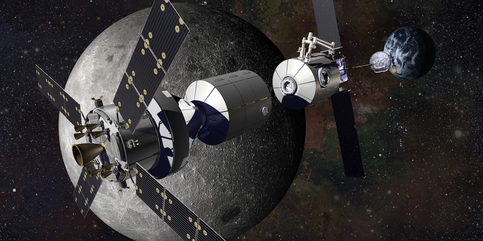 Россия присоединилась к проекту США по созданию космической станции на орбите Луны