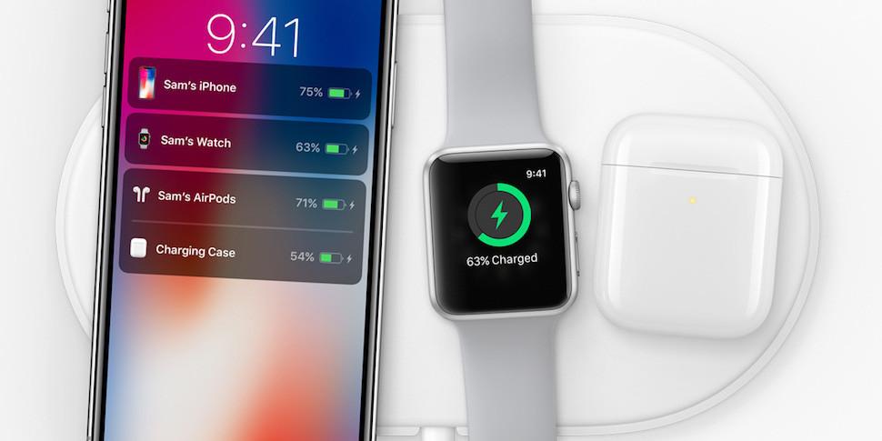Apple анонсировала беспроводную зарядку AirPower