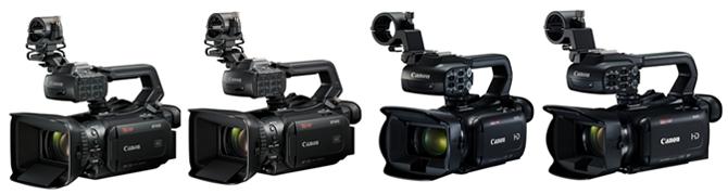 Canon выпустила профессиональные видеокамеры