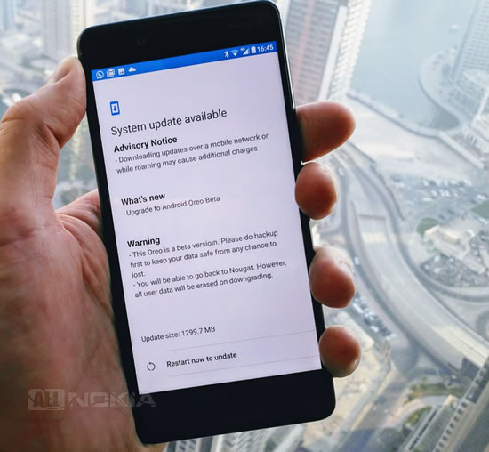 HMD тизит обновление Android Oreo для Nokia 8