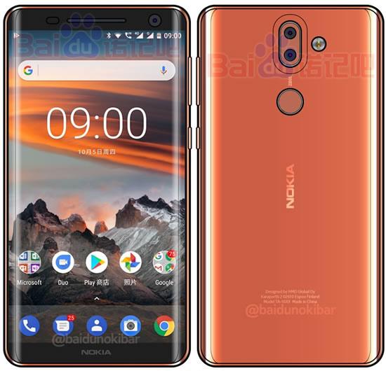 Nokia 9 получит скругленный 3D glass дисплей
