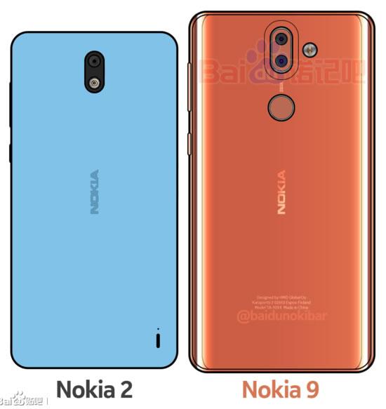 Показан дизайн флагмана Nokia 9