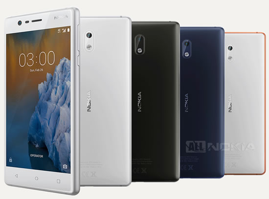 Nokia 3 начал обновляться до Android 7.1.1 Nougat