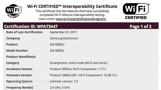 Samsung готовит новую версию смартфона  Galaxy S8 Active