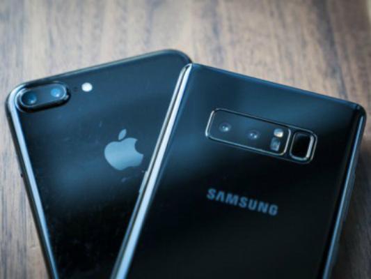 iPhone 8 Plus против Galaxy Note 8 — краш-тест