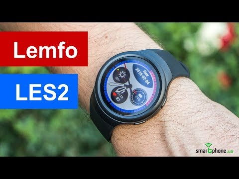 Видеообзор cмарт-часов LEMFO LES2 от портала Smartphone.ua!