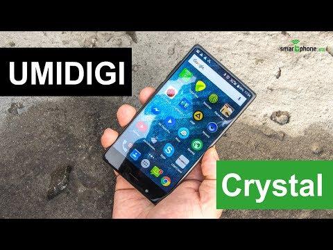Видеообзор безрамочного смартфона UMIDIGI Crystal от портала Smartphone.ua!