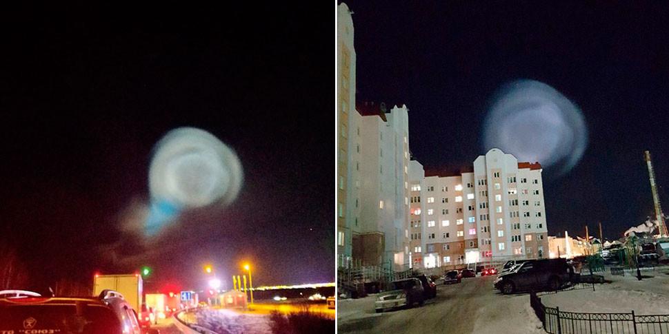 НЛО в небе над Сибирью оказалось газовым шаром от ракеты «Тополь»