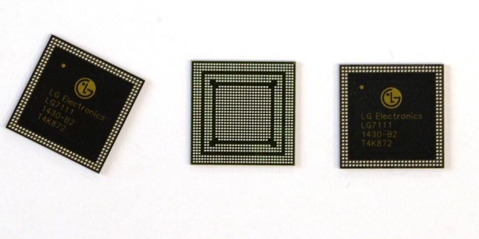 LG займется производством собственных чипсетов для смартфонов