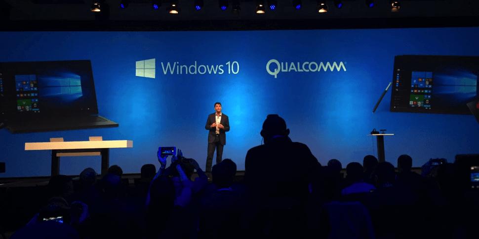 Microsoft: ноутбуки на чипах Qualcomm работают несколько дней без подзарядки