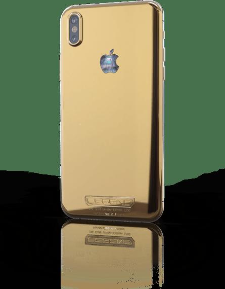 Финны показали вычурный iPhone X с бриллиантами и золотом за 3790 евро