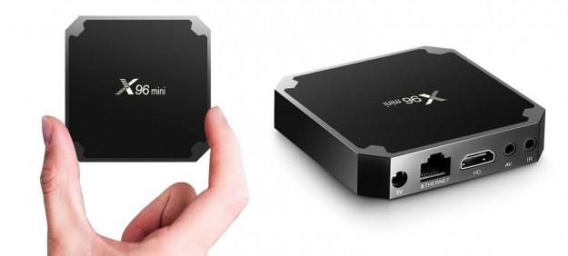 Товар дня: Смарт-ТВ приставка X96mini Android 7.1.2 TV Box Amlogic S905W за $29.99