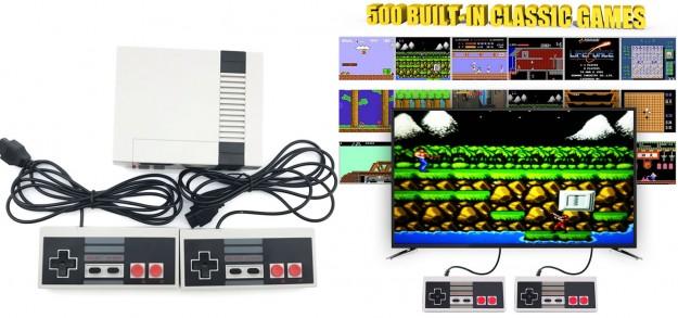 Товар дня: Игровая приставка NES Game Machine с 500 играми всего за $21.99
