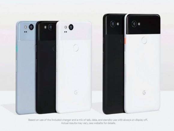 Google Pixel 2 и Pixel 2 XL представлены официально