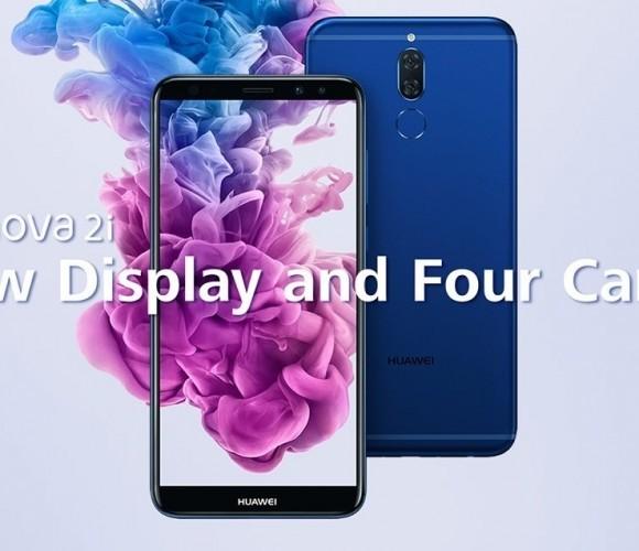 Huawei представила безрамочный Nova 2i с четырьмя камерами
