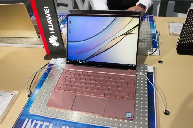 Бренд Huawei впервые презентовал фирменные ноутбуки в Украине