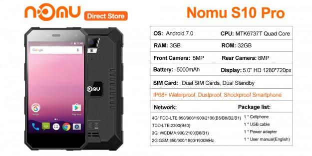 Товар дня: NOMU S10 PRO доступен по предзаказу по акционной цене 9.99 до 16 октября