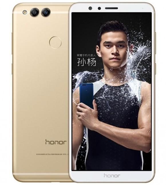 Доступный безрамочный Huawei Honor 7X с двойной камерой представлен официально