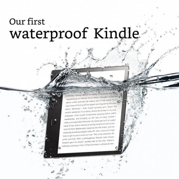 Amazon представила свой первый Kindle с защитой от воды