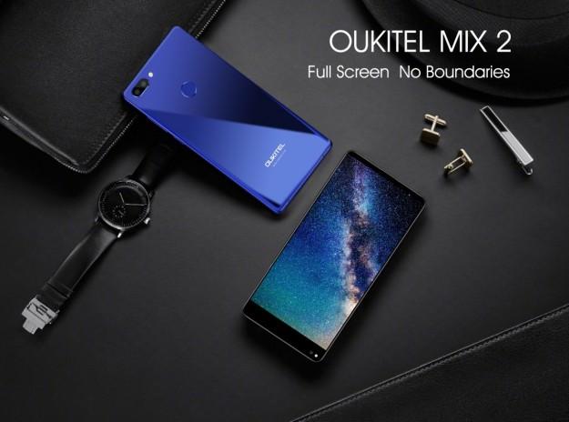 Детальные характеристики OUKITEL MIX 2: 6 ГБ оперативной памяти и процессор Helio P25 Soc