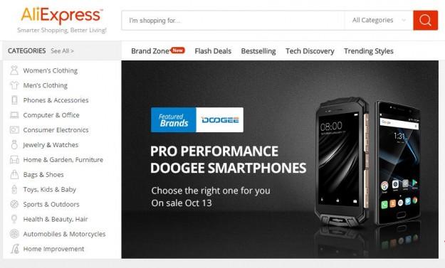 Признанный бренд на AliExpress: DOOGEE предлагает скидку до 40% и кэшбэк до 50%