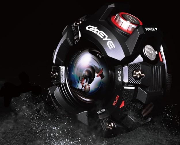 Экшн-камера Casio GZE-1 выполнена в стиле часов G-Shock