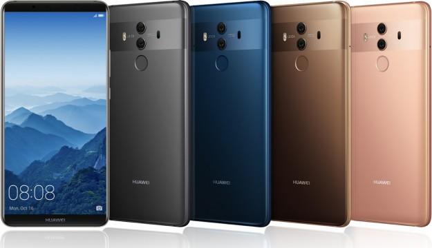 Huawei презентует смартфоны Huawei Mate 10 и Huawei Mate 10 Pro
