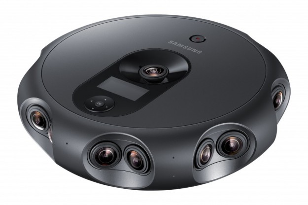 Samsung представила мощную панорамную камеру 360 Round для виртуальной реальности