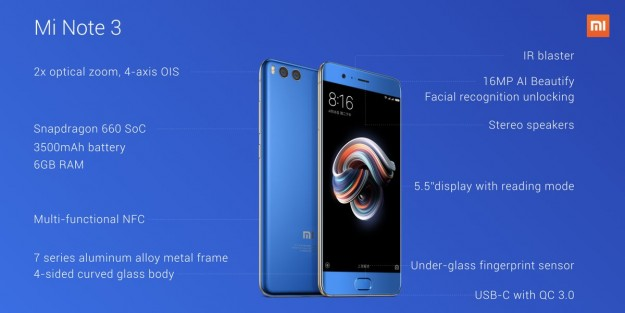Xiaomi Mi Note 3: достойное наследство, но не Ноута