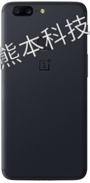 Рендеры OnePlus 5T с узкими рамками и сканером пальца сзади