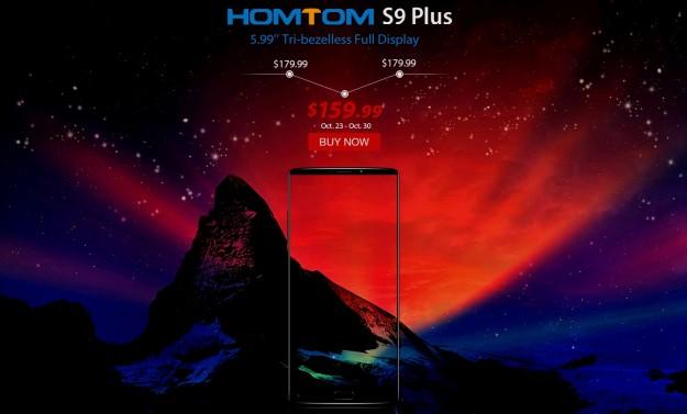 Товар дня: смартфон HOMTOM S9 Plus - $159.99, браслет MGCOOL Band 3 - $9.99, планшет Lenovo TAB4 8 Plus - $269.99