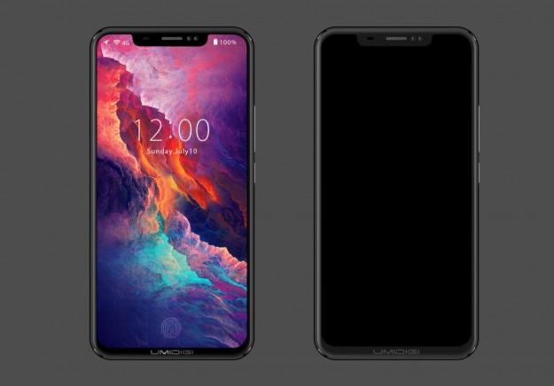 Концепт UMIDIGI Z2 с безрамочным экраном в стиле iPhone X (видео)