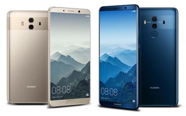 Mate 10 Pro получил лучший набор аппаратных характеристик среди смартфонов Huawei
